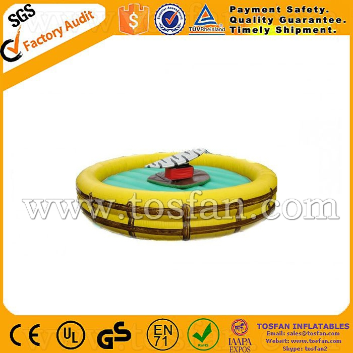 Commercial inflatable riding machine mechanical bull A6044