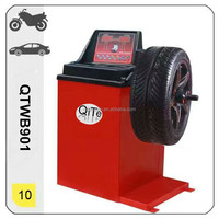 tyre repair whop manual motorcycly tire wheel balancer with strong structure