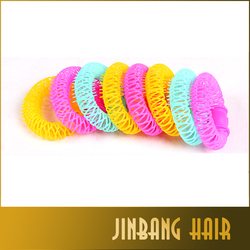 Colorful high quality popular fashion design hair donut buns for beautiful girl