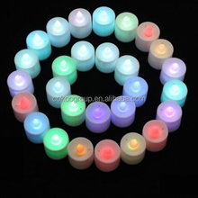 Round popular brands led rechargeable lamp luminous creative decoration KTV bar restaurant led lamp Candles