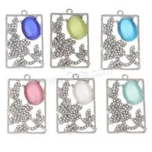Pectfect jewelry 2017 new cat eyes silver pendant 1123473