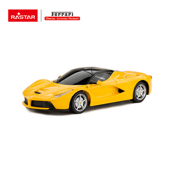 Red/Yellow colors LaFerrari authorized battery electric high speed car toy for kids