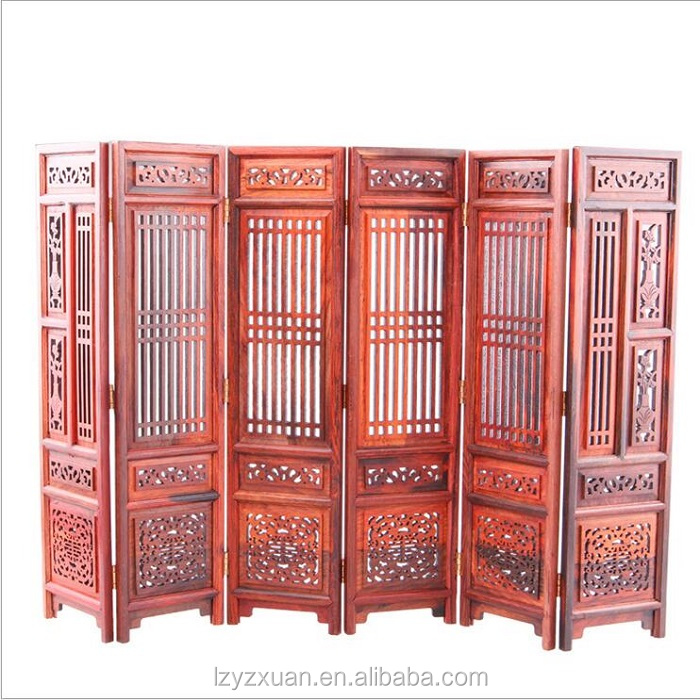 high quality Folding Room Divider Floor Screen with great price