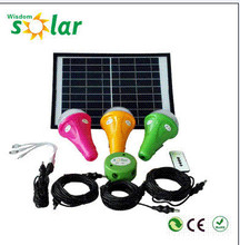 Intelligent control solar home light portable solar home system(JR-CGY)