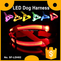 Nylon Flashing LED Dog Harness