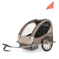Factory Directly Baby Bike Trailer with EN15918/EN1888 certificate bicycle trailer(BT004)