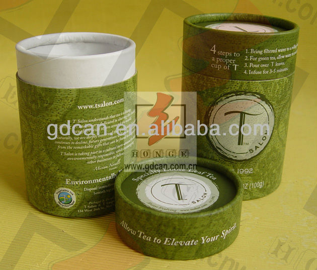 soy ink print tea paper package box
