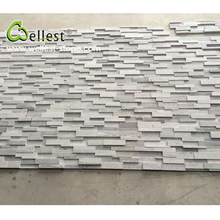 Hot Selling China Natural Blue Wood Culture Stone for Back Ground Wall
