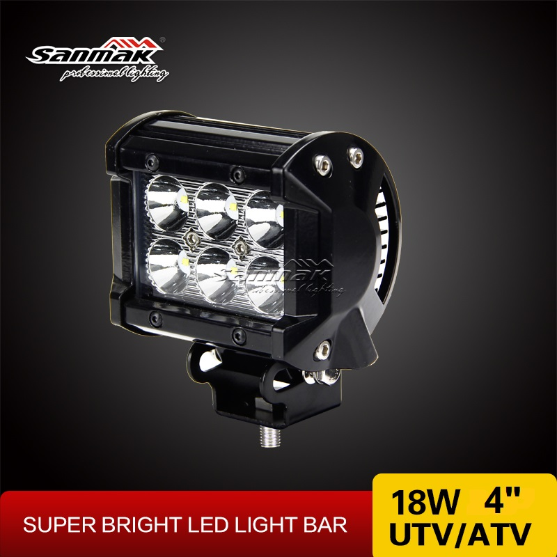 High quality Spot flood comb beam CREE 3W led working light bar for 4x4 truck off-road vehicle