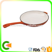 Round shape mini Enameled cast iron skillet