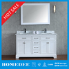 HOMEDEE Modern Factory Directly Solid Wood Bathroom Cabinet