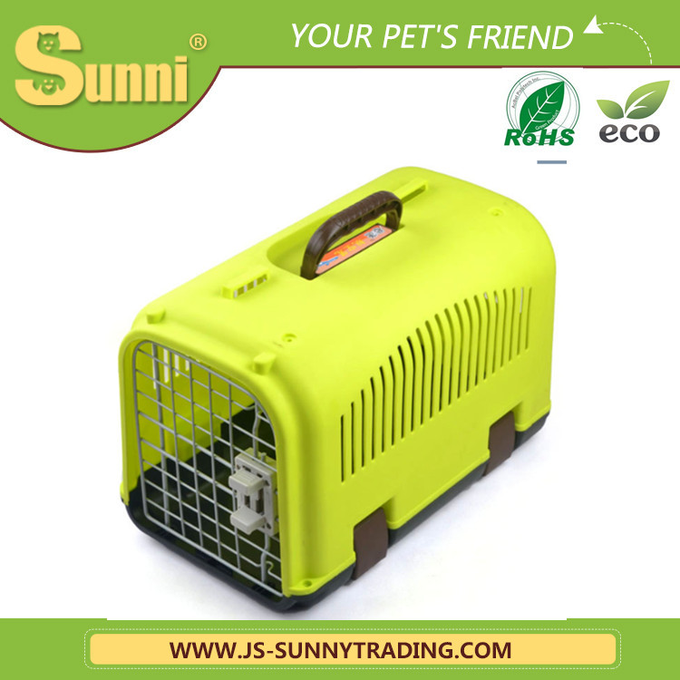 High quality plastic dog cat carrier bag cage pet