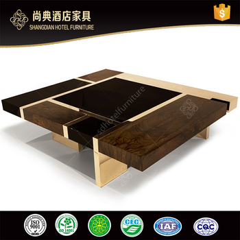 Top Quality Good Price Wood Coffee Table Sale Saudi Arabia