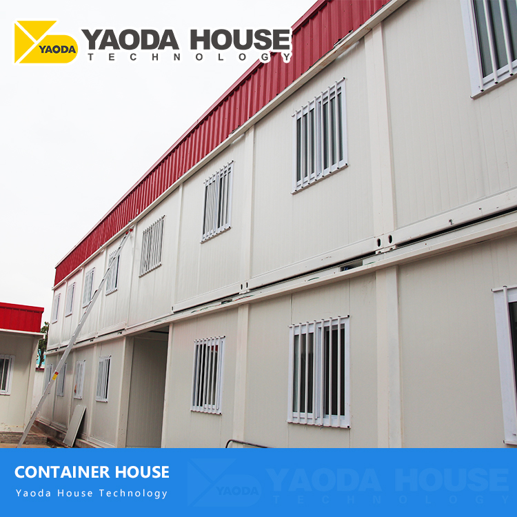 Model Modified Multi Residential Self Contained kit Steel Frame Habitable 2 Two-Storey Prefabric Prefab Container House