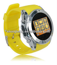 GPS Silicon strap mobile phone watch