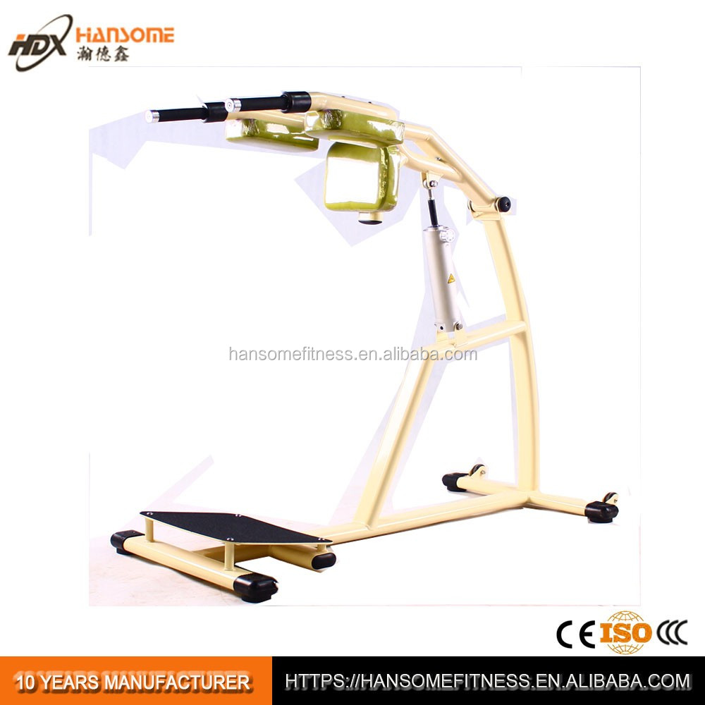 Women use hydraulic fitness squat exercise machine DHX-<strong>N009</strong>