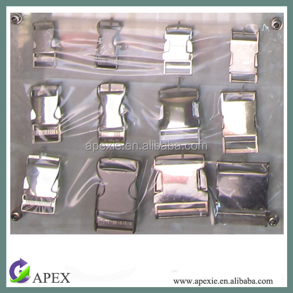 High quality metal side release buckle adjustable side release buckle quick release buckle