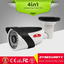 2MP AHD camera HD CCTV 4in1 camera IP66 Waterproof IR Bullet camera Fixed lens 3.6mm 6mm with OSD