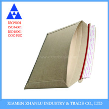 Corrugated mailer boxes corrugated board with peel & seal open flap