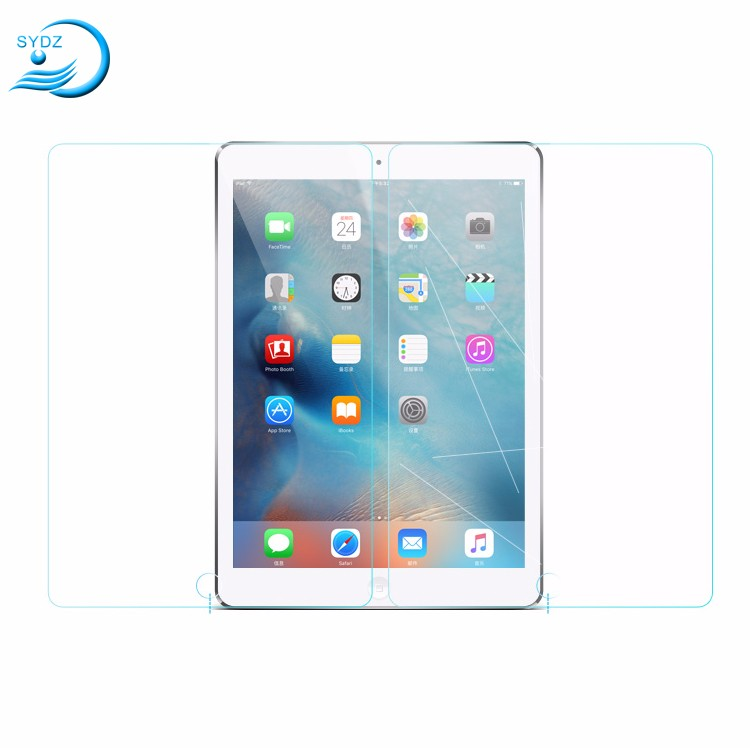 Hot Product 9H HD Transparent For Ipad Pro Glass Flim,For Ipad Pro Glass Protector