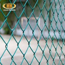 Direct factory high quality pvc coated chain link fence hot dip galvanized used chain link fence & gates in Kenya