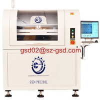 automatic screen printing machine used for solder paste printing