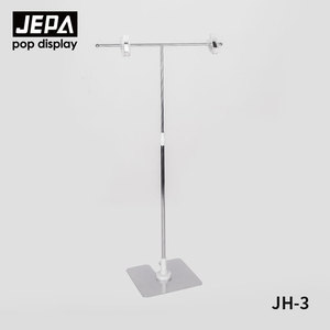 Free Samples JH-3 Adjustable Tabletop Metal Display Stand With clips