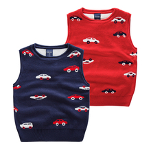 Hot Products Casual Baby Boys Wholesale Sweater Waistcoats Cute Worsted Waistcoat
