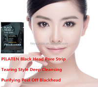100% natural essence Triple Nose Blackhead Remover from PILATEN smooth nose