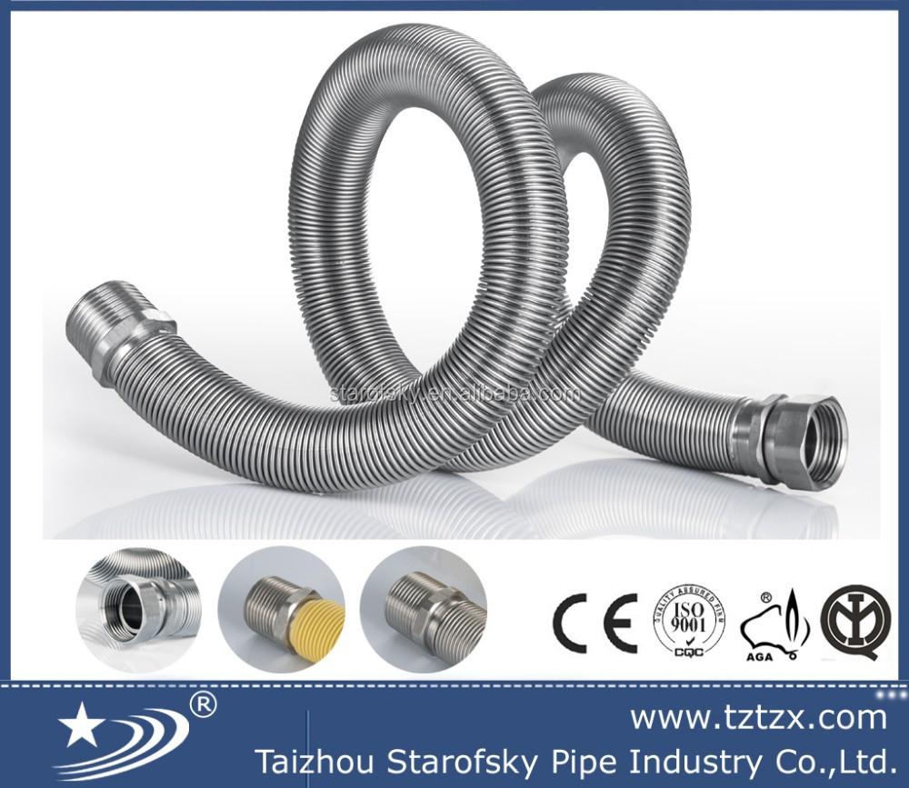 iso9001 dn15 t le ondul e tuyau flexible pour l 39 eau tzx b0001 tuyaux en acier inoxydable id de. Black Bedroom Furniture Sets. Home Design Ideas