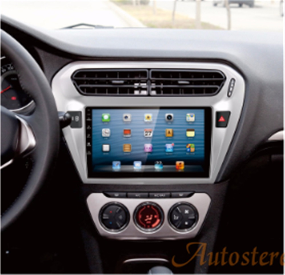 9 inch biggest powerful screen Android 5.1 Quad core Car GPS navigation for PEUGEOT 301 Citroen Elysee 2014 2015 2016 2017