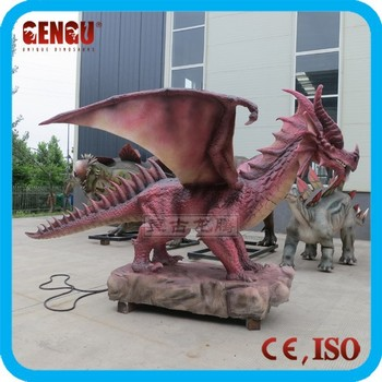 Horror House Product - Animatronic Red Dragon