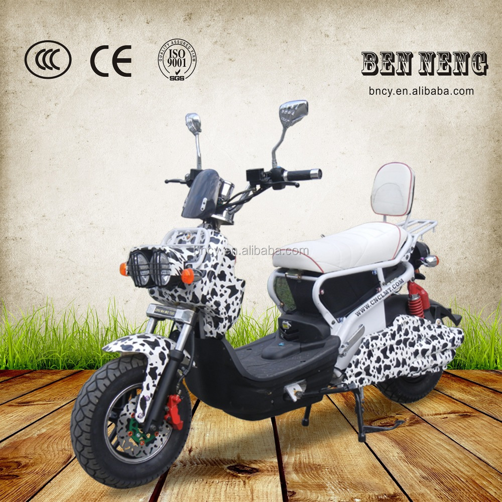 2016 Fast speed powerful new style Electric Motorcycle 1200W motor