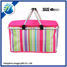 Folding Aluminum Picnic Lunch Blanket Cooler Bag