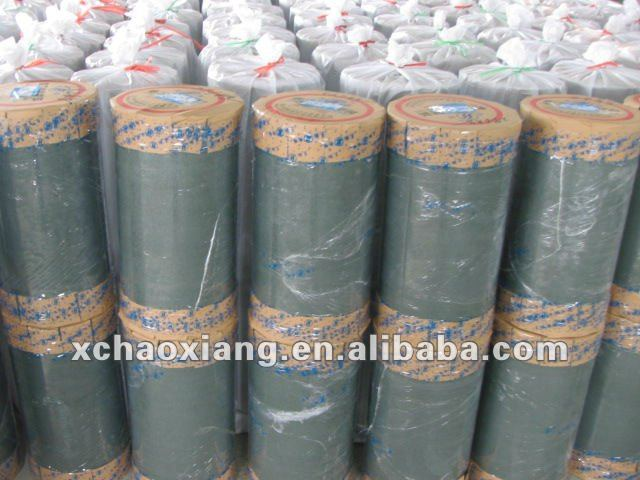 Polyester film/insulating board composite paper