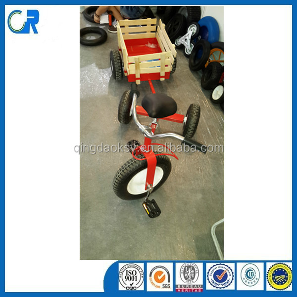 China Manufacturer Golden Supplier Cheaper Price Cart Toy Tricycle with Wood Pedal