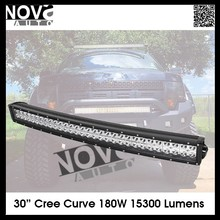 50 inch 288W Curved Led Light bar with relay 10-30V Off Road 4x4 Curved Light Bar