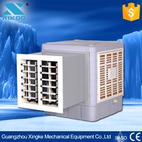 small window wall air cooler fans dc solar panel power