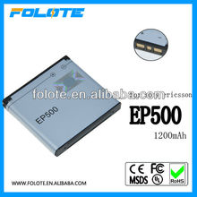 3.7V 1250mAh battery for Sony Ericsson EP500 for Xperia X8