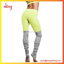 2016 Latest design tight fitted SUPPLEX high quality yoga pants running tights for women