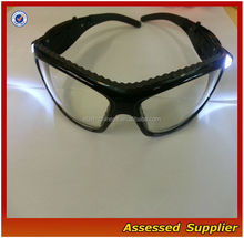 LED light safety goggles