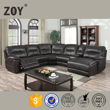 ZOY 9917A Ameirican style circle corner living room furniture sofa