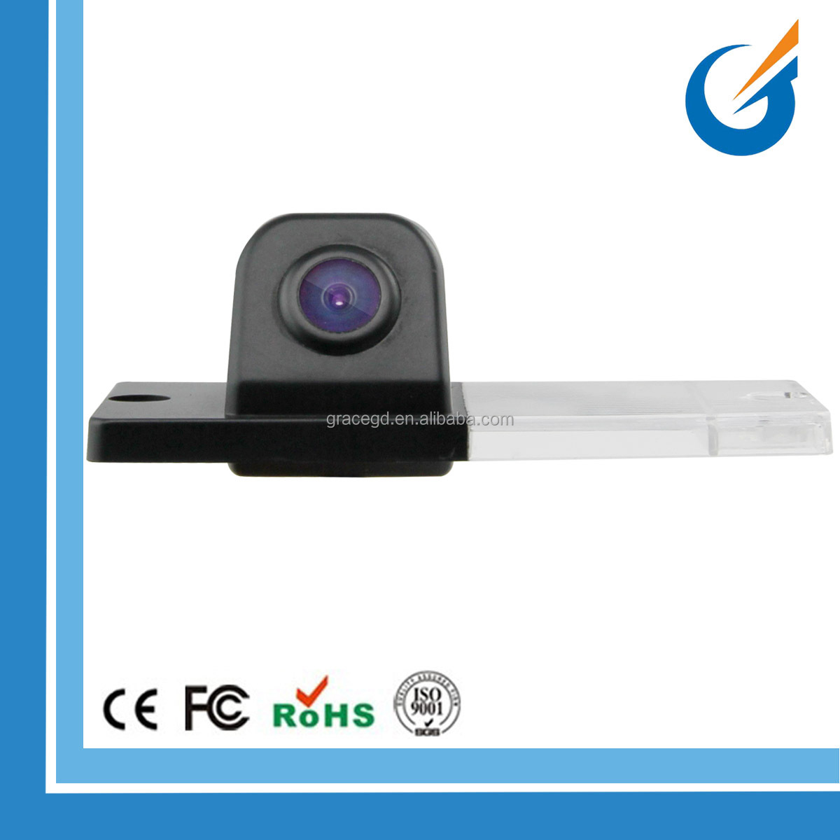 Color HD CCD KIA Sportage Reversing Camera With Rear View Vision
