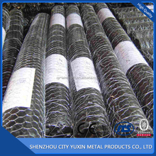 China Metal Hot Dipped Electro Galvanized Double Twisted animal cage fence hexagonal wire mesh