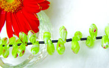 colorful ss millefiori glass beads ,diy jewelry glass beads