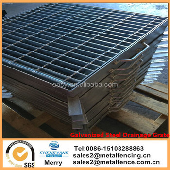 590x600x50mm Heavy Duty One Set Hot Dip Galvanized Steel Drainage Grate &Frame