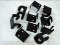 Customized OEM stamping parts with Powder Coat