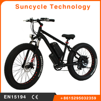 Suncycle hot sale cycling ebike battery power electric bike strong electric bike automatic dirt bikes