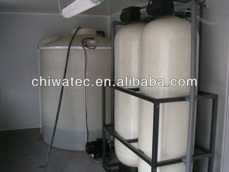 containerized river water treatment plant