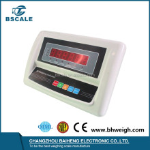 B6 CE approved plastic floor scale weighing indicator